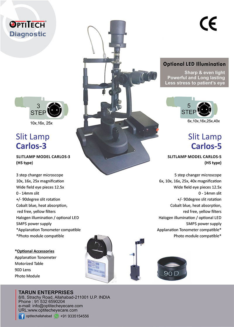 Optitech eye care slitlamp slitlamp carlos 3 carlos 5 aloadofball Choice Image